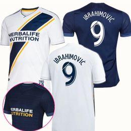 cdc537f22 Newest LA Galaxy Soccer jersey IBRAHIMOVIC 18 19 Los Angeles Camisa Galaxy  GERRARD GIOVANI BECKHAM Maillot KAMARA LA galaxy football uniform