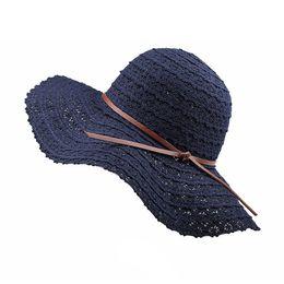 $enCountryForm.capitalKeyWord UK - Summer Lace Cotton Soft Sun Hats for Women Fashion Design Female Floppy Beach Sun Hat Foldable Big Brimmed Breathable Straw Hat