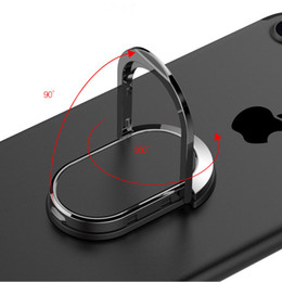 Iphone 5s Finger Australia - Finger Ring Mobile Phone Smartphone Stand Holder For iPhone X 8 7 6 6S Plus 5S Smart Phone IPAD MP3 Car Mount Stand For Samsung