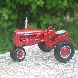 H Case Australia - Farm Tractor Case FARMALL H alloy car model New Year gift An Act ERTL 1:16