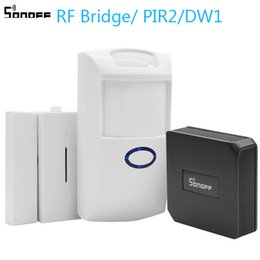 $enCountryForm.capitalKeyWord Australia - Sonoff RF Bridge PIR 2 Sensor  DW1 Door & Window Alarm Sensor Wifi Wireless Signal Converter for Smart Home Security Kits