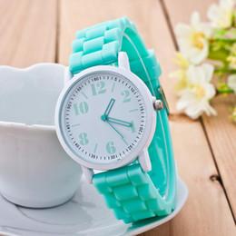 $enCountryForm.capitalKeyWord Australia - Casual Watch Geneva Unisex Quartz Watch 7color Men Women Analog Wristwatches Sports Watches Silicone Watches Reloj Mujer Hombre T190619