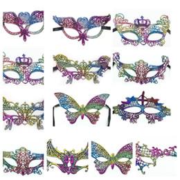 $enCountryForm.capitalKeyWord UK - new Lace Mask Carnival Dance Halloween masks Half Face Masquerade Masks Venetian Sexy colorful Costume Party Masks ChristmasT2I5320