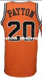 great basketball Canada - Custom Oregon State #20 Gary Payton greats and glory basketball jersey