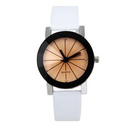 $enCountryForm.capitalKeyWord Australia - 2018 Geneva Top Brand Watches Women Casual Roman Numeral Watch For Men Women PU Leather Band Quartz Wrist Watch relogio
