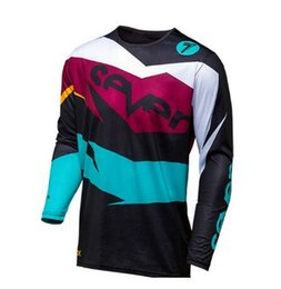 Pink Clothing Women UK - Santic Rushed Sale Roupa Ciclismo 2019 Seven Motocross Jersey Mx Downhill Ropa Mtb Mountain Bike Shirt Equipement Men's Clothes