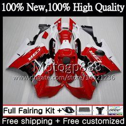 $enCountryForm.capitalKeyWord NZ - Body For HONDA CBR 600F2 FS CBR600 F2 Red white 91 92 93 94 46PG7 CBR600FS CBR 600 F2 CBR600F2 1991 1992 1993 1994 Fairing Bodywork Red