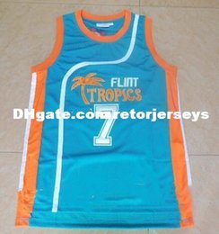 287fc385ae2 Stitched  7 Coffee Black Flint Tropical Cheap Top Basketball Jerseys Movie jerseys  NCAA XS-6XL