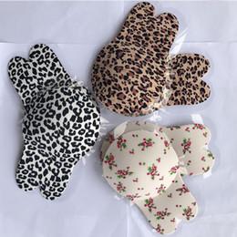 venda por atacado Cópia do leopardo orelha de coelho invisível Bras Anti-Colisão Moda Strapless Peito Cole New Chega Popular em 2019 3 99yl J1