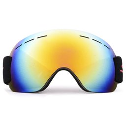 China 1 Pcs Ski Goggles Snow Mountain Goggles Outdoor Winter Sport Cycling Wind Mirror for Game Snowmobiling for Ski Riding 4 Color cheap mirror games suppliers