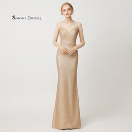 53778b1c33a Gorgeous 2018 mermaid prom dresses V Neck Sleeveless Sexy Backless In Stock  High End quality Occasion Graduation formal dresses evening