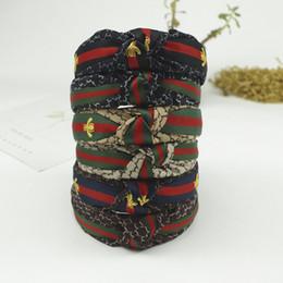 Bee accessories online shopping - Big Children s Hairband Headband For Women Fashion Turban Striped Hair Band Bee Pattern Print Hair Accessories Colors