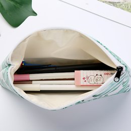 $enCountryForm.capitalKeyWord Australia - 1pcs 1lot Kawaii Pencil Case Turtle leaf Gift Estuches School Pencil Box Pencilcase Pencil Bag School Supplies Stationery DT0078