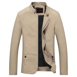 fashion jackets NZ - 2016 new fashion men casual jacket slim fit solid jackets and coat outwear M-5XL JPYG70