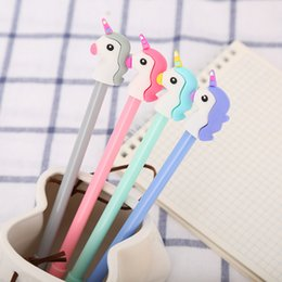 $enCountryForm.capitalKeyWord Australia - Girl Heart Cartoon Unicorn Student Writing Pen Office Eexamination Limited Office Material School Supplies Free DHL