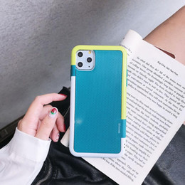 banking case Australia - iPhone11 new phone case for Apple 11 Pro Max tri-color tpu mobile phone case wholesale 11Pro power bank