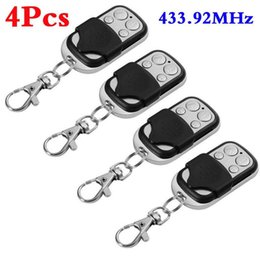 cloning universal gate garage remote NZ - Yiwa 1Pc   2Pcs  4Pcs Universal Cloning Remote Control Key Fob for Car Garage Door Electric Gate