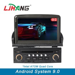 Gps Steering Australia - 1 din Car DVD player Android 9.0 for peugeot 307 bluetooth steering wheel control RDS GPS Automotive Navi multimedia WIFI