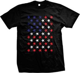 Cosplay Flags Australia - American Flag Stars America Pride USA T-shirt fear cosplay liverpoott mens pride dark t-shirt white black grey tshirt