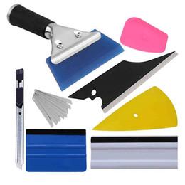 $enCountryForm.capitalKeyWord NZ - Car Window Tint Tool Set Carbon Fiber Squeegee Car Tinting Vinyl Wrap Tool Auto Accessories Sticker Film Cutter Knife