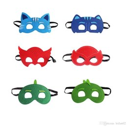 $enCountryForm.capitalKeyWord NZ - 6 style PJ Masks superhero mask for kids Conner Greg Amaya Party Mask Halloween Christmas costumes masquerade masks party favors gifts