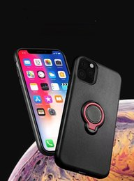 $enCountryForm.capitalKeyWord NZ - Magnetic Ring Holder Kickstand TPU Cell Phone Cases For Iphone 11 Pro Max Samsung Galaxy Note 10 Plus S10 A50 A70 Armor Case