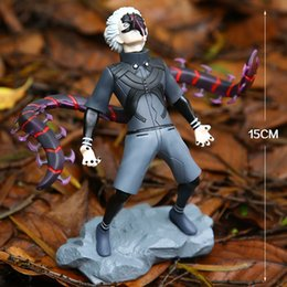kaneki figure NZ - NEW hot 15cm Tokyo Ghoul Kaneki Ken generation of dark Jin Muyan action figure toys collection Christmas gift doll with box