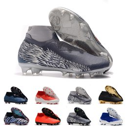 $enCountryForm.capitalKeyWord Australia - Hot Phantom VSN Vision Elite DF FG New Lights Under The Radar Fully Charged Mens High Ankle Soccer Cleats Football Shoes Size 39-45
