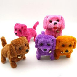 $enCountryForm.capitalKeyWord Australia - 10 models Electronic Walking Dogs Kids Children Interactive Electronic Pets Doll Plush toys Neck Bell Barking Electronic Dog Toy Christmas