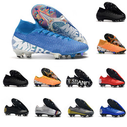 football 12 Australia - Mercurial Mens Low Ankle Football Boots Under The Radar 13 12 Elite FG Soccer Shoes Neymar ACC Superfly XIII 360 FG Soccer Cleats