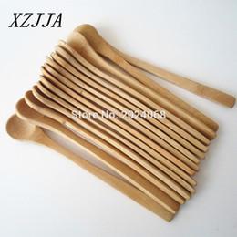 Wholesale Wholesale 15pcs 7 .5inch Wooden Spoon Ecofriendly Japan Tableware Bamboo Spoon Scoop Coffee Honey Tea Ladle Stirrer Best Quality