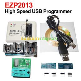Flash Drive Ic Australia - Freeshipping EZP2013 USB High Speed Programmer +5 PCS Adapter +1.8V Adapter SPI 24 25 93 EEPROM Flash Bios win8 32 64bit Support WIN7 WIN8