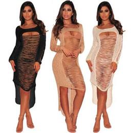 3535d73fc8 Sheer pencil Skirt online shopping - Women Sexy Swimming Bikini Blouse  Irregular Hollow Out Tassel See