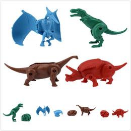 $enCountryForm.capitalKeyWord Australia - Hot Creative Mini Plastic Deformed Dinosaur Egg Kids Intelligence Toys Party Home Education Gift Free Shipping