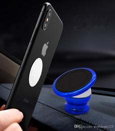 Best magnets online shopping - Best quality Universal smart Mobile phone holder Magnet bracket degrees magnetic phone holder Car phone holder Car navigation frame