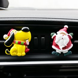 car scents air freshener wholesalers UK - Christmas Gift Car Air Freshener Perfume Flavoring for Auto Interior Decoration Smell Fragrance Scent Aroma Car Accessories