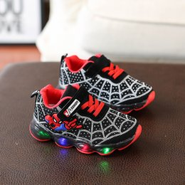 $enCountryForm.capitalKeyWord Australia - Led Lighted Baby Casual Shoes Cool Soft Spring autumn Cool Baby Sneakers Infant Tennis Breathable Boys Girls Shoes Footwear Y19051504
