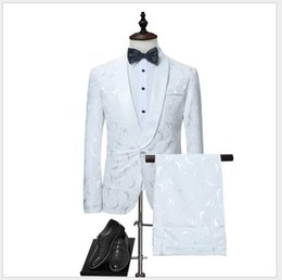 $enCountryForm.capitalKeyWord NZ - Men's Casual Suits With One Button Large Size S-XL Two Pieces (Blazer+Pant) Wedding Bridegroom Tuxedos One Set Per Opp Bag
