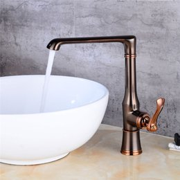 $enCountryForm.capitalKeyWord Australia - 2019 Kitchen Faucet Classic Brass Kitchen Sink Water Faucets Cold Hot Water Mixer Tap New Design Deck Mounted Faucets