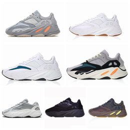 06f2b17db Wave Runner 700 Kanye West Glow in Dark Reflective line 2019 New Running  shoes size 36-46 With bottom and 3M material