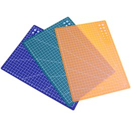 Office & School Supplies Latest Collection Of A4 Grid Lines Cutting Mat Craft Card Fabric Leather Paper Board 30*22cm High Quality Cutting Mats