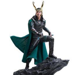 $enCountryForm.capitalKeyWord Australia - Marvel Avengers Loki Action Figures Iron Studios Thor Ragnarok 1 6 Scele Collectible Model Toys 25cm