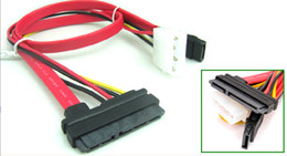 7pin cable Australia - SATA 7pin Data Cable Molex Sata Power adapter 45CM