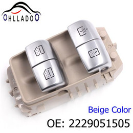 switch mercedes benz Australia - HLLADO High Quality Rear Right Power Window Switch 2229051505 A2229051505 For Benz 2014-2016 S550 S600 S63 Beige Color