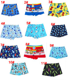 Wholesale Baby boys swimming trunk quick drying waterproof children swimsuit Korean Version cute cartoon printed beach pants boy swim trunks