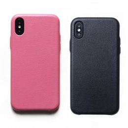 China Luxury Nappa Real Leather Pattern Phone Case For iPhone X 7 8 Plus Thin Back Cover For iPhone 8 7 Plus Protective Case suppliers