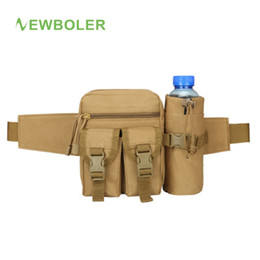 molle pouches accessory 2019 - Fishing Belt Waist Waterproof Running Camping Bag Tackle Oxford Spinning Winter Reel Protective Cover Box Molle Pouch Ac