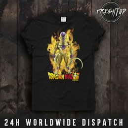 $enCountryForm.capitalKeyWord Australia - Gold Frieza T Shirt Dragon Ball Super Goku Vegeta Super Saiyan Capsule Corp