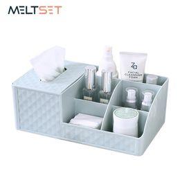 Dresser Toy Australia - Cosmetic Storage Box Desktop Organizer Tissue Holder Bathroom Toiletries TV Remote Control Storage Holder Makeup Dresser