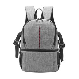 $enCountryForm.capitalKeyWord UK - Photo Camera Dslr Video Waterprpof Oxford Fabric Soft Padded Shoulders Backpack Slr Bag Case For Digital Camera